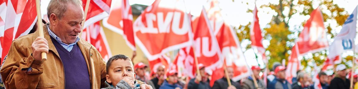 Gewerkschaft Unia cover