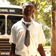 Emmanuel, one of our AiduFellows who successfully graduated