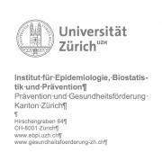 Universität Zürich, Institut für Epidemiologie, Biostatistik und Prävention